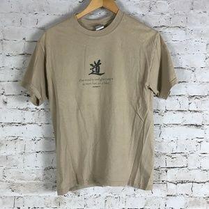 VTG aero Stich T-Shirt Size M Brown Bike Cycling M